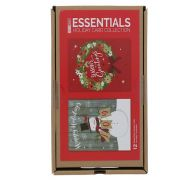 X MAS HOLIDAY CARD COLLECTION 12 COUNT