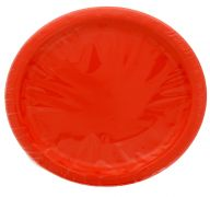 Red 7 Inch Dessert Plates 20 Count