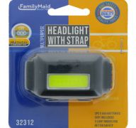 HEAD LIGHT WITH STRAP