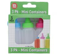 MINI CONTAINERS 3 PACK