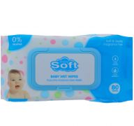 BABY WIPES 80 WIPES