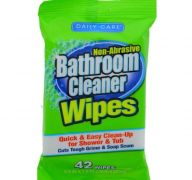 BATHROOM CLEANER WIPES 42 COUNT