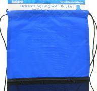DRAWSTRING BAG 17 INCH X 13.4 INCH