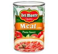 DEL MONTE PASTA SAUCE 24OZ MEAT