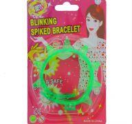 BLINKING SPIKED BRACELET