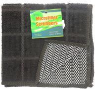 BLACK SCRUBBER 2 PACK 12 X 12 INCH