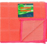 PINK SCRUBBER 2 PACK 12 X 12 INCH