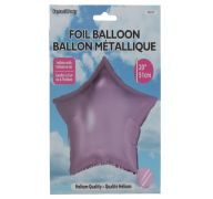 Star Shape Foil Mylar Balloon Pink