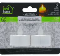 LED TEALIGHT CANDLES 2 PACK