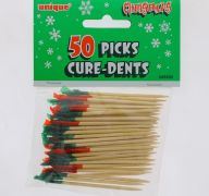 CHRISTMAS 50 PICKS CURE-DENTS