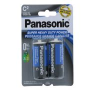 Panasonic Super Heavy Duty C Battery 2 Count