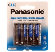 BATTERY PANASONIC AA 4PK