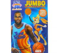JUMBO SPACE JAME COLORING BOOK 80 PAGES