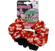 MINNIE MOUSE 2 PACK SCRUNCHY ELASTIC