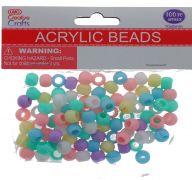 ACRYLIC BEADS 100 PC