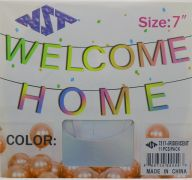 IRIDENCENT WELCOME HOME 7 INCH BANNER