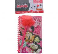 MINNIE MOUSE NOTEBOOK WITH PEN