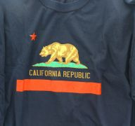 MENS T SHIRT CALIFORNIA