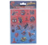 SPIDERMAN STIKCERS 4 SHEETS 80 COUNT