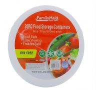FOOD STORAGE CONTAINERS 20 PACK 10 OZ