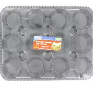 CUPCAKE TRAY WITH LID 12 SECTION