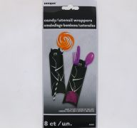 HALLOWEEN CANDY UTENSIL WRAPPERS