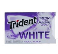 TRIDENT WHITE COOL RUSH GUM