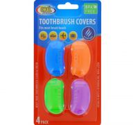 TOOTBRUSH COVERS 4 PACK