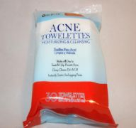ACNE TOWELETTES 25CT 5.5X7.9IN