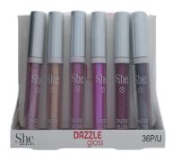 DAZZLE GLOSS ASSORTED COLORS