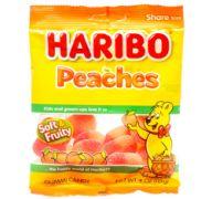 HARIBO PEACHES 4 OZ