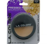 NATURAL PRESSED POWDER WITH APPLICATOR AND MIRROR