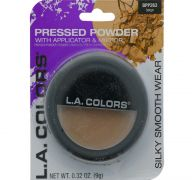 COCOA PRESSED POWDER WITH APPLICATOR AND MIRROR
