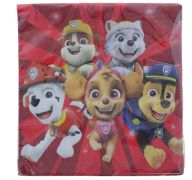 PAW PATROL SERVING NAPKIN 16 COUNT