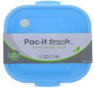 PLASTIC CONTAINER SQUARE 1300 ML 44 OZ
