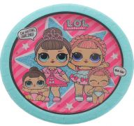 LOL SURPRISE 7 INCH PLATE 8 COUNT