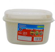 STORAGE CONTAINER 3 PACK 550 ML 850 ML 1.3 L