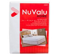 NUVALU MATTRESS COVER QUEEN SIZE 0.04MM PEVA 60&ampampampampampampampquotX80&ampampampampampampampquotX8&ampampampampampquot