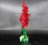 CHRISTMAS TREE TINSEL 12IN 5AST