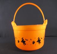 HALLOWEEN PUMPKIN BASKET