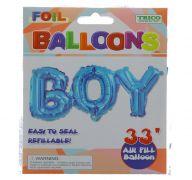 BOY FOIL BALLOON 33 INCH