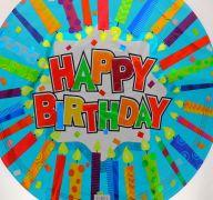 HAPPY BIRTHDAY FOIL BALLOON 18 INCH