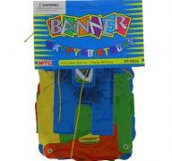 HAPPY BIRTHDAY BANNER FOIL