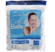 SUPER JUMBO COTTON BALLS 70 CT