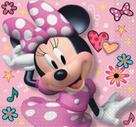 DISNEY MINNIE MOUSE LUNCHEON NAPKIN