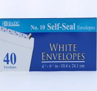 White Envelope 10IN