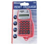 Pocket Size Calculator Neck String