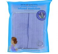 OIL INFUSED EXFOLIATING BACK TOWEL 2 PACK