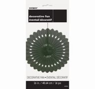 DECORATIVE FAN  MIDNIGHT BLACK