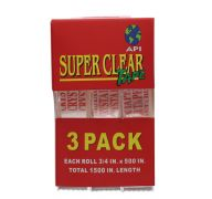 TAPE CLEAR 3PC